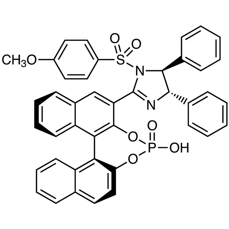 (S)-3-[1-(4-Methoxybenzenesulfonyl)-(4S,5S)-4,5-diphenyl-4,5-dihydro-1H-imidazol-2-yl]-1,1'-binaphthalene-2,2'-diyl Hydrogen Phosphate