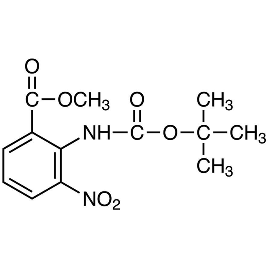 Methyl 2-(tert-Butoxycarbonylamino)-3-nitrobenzoate