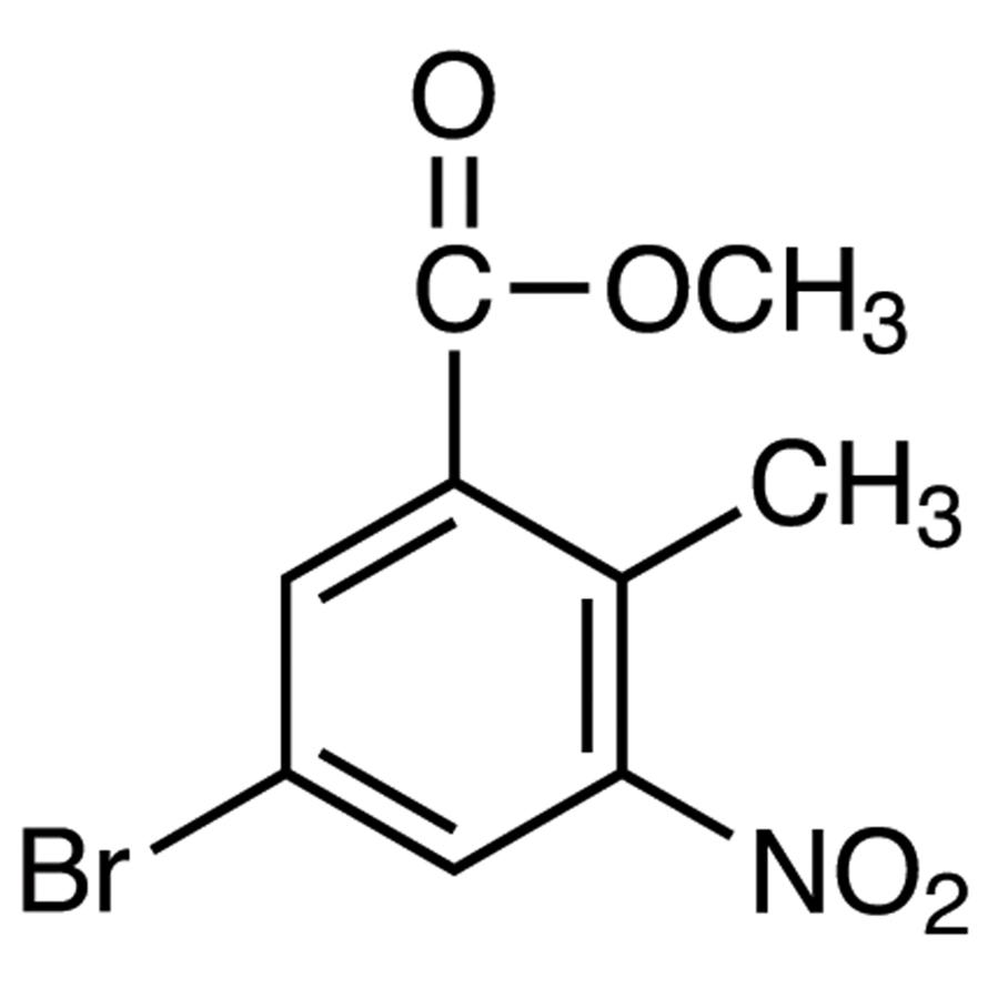 Methyl 5-Bromo-2-methyl-3-nitrobenzoate
