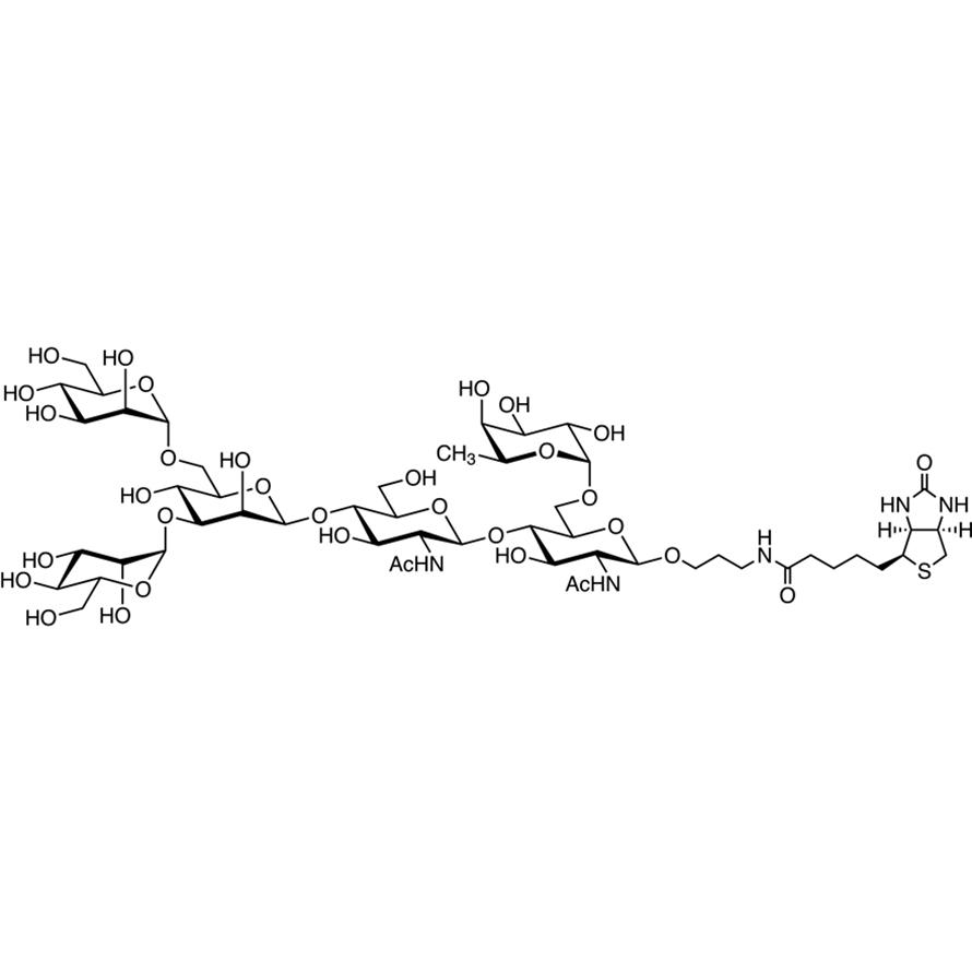M3(Fuc6)-biotin