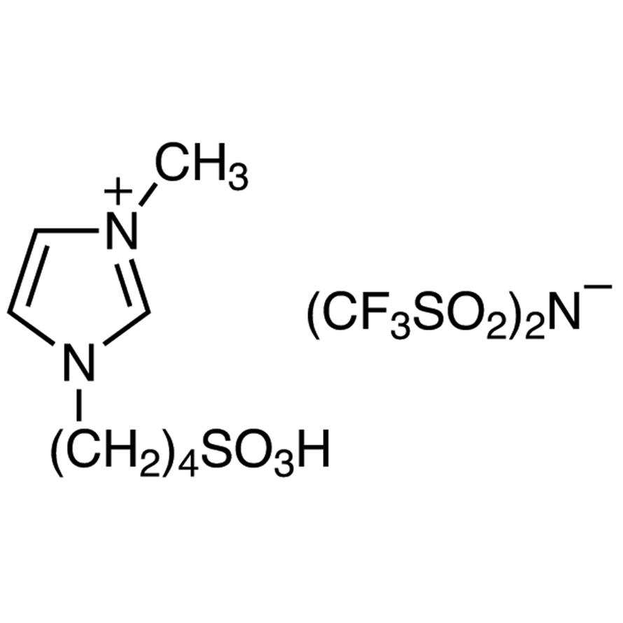 1-Methyl-3-(4-sulfobutyl)imidazolium Bis(trifluoromethanesulfonyl)imide