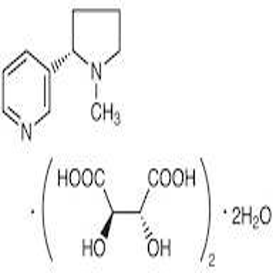 Nicotine Bi-L-(+)-tartrate Dihydrate