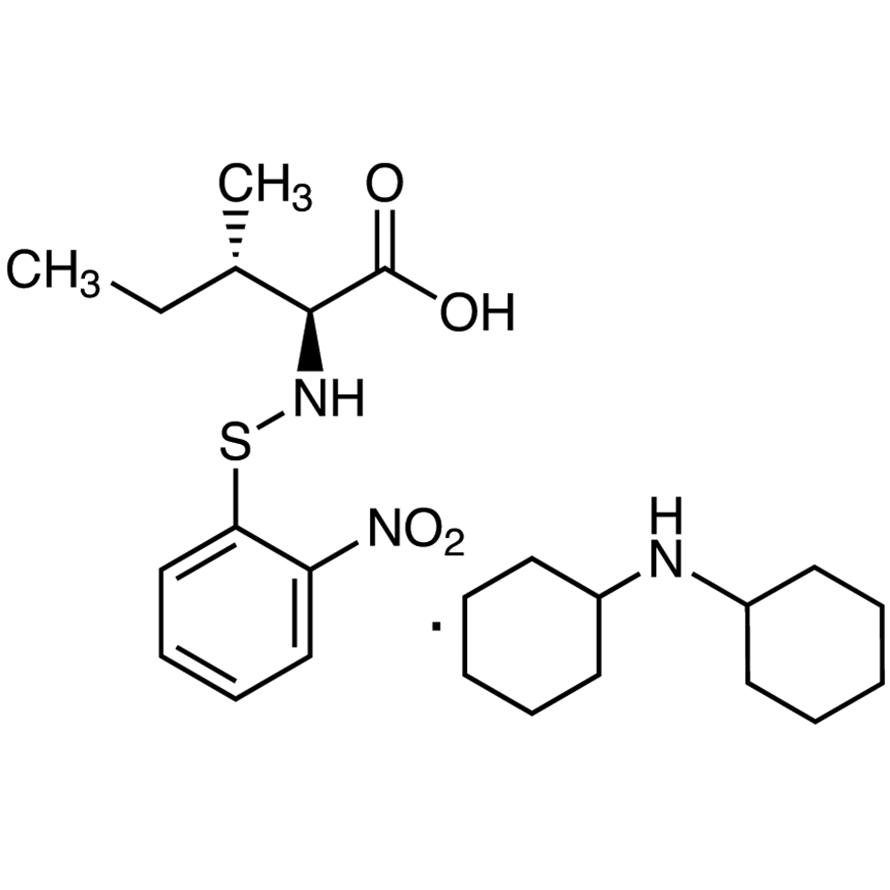 N-2-Nitrophenylsulfenyl-L-isoleucine Dicyclohexylammonium Salt