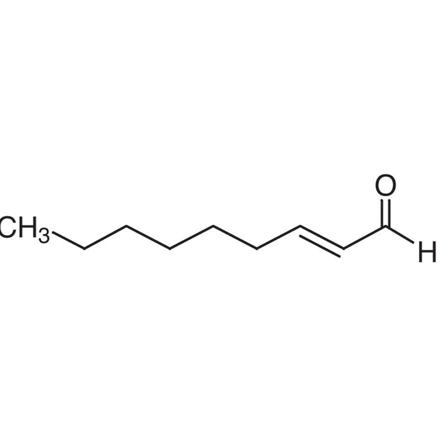 trans-2-Nonenal (contains trans-2-Nonenal Diethyl Acetal) (ca. 10% in Ethanol, ca. 0.57mol/L)