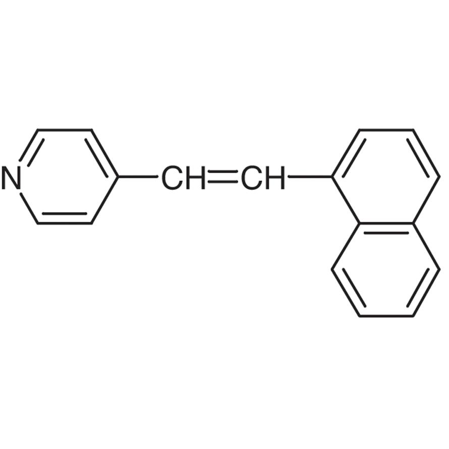 4-(1-Naphthylvinyl)pyridine