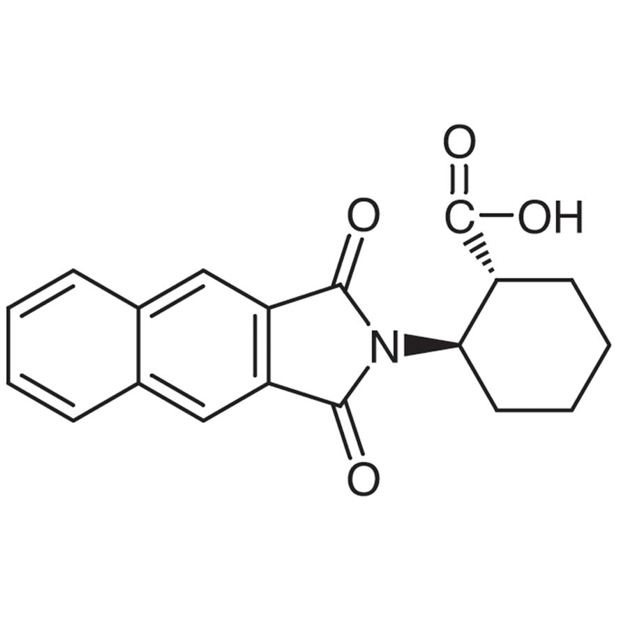 (1R,2R)-2-(Naphthalene-2,3-dicarboximido)cyclohexanecarboxylic Acid