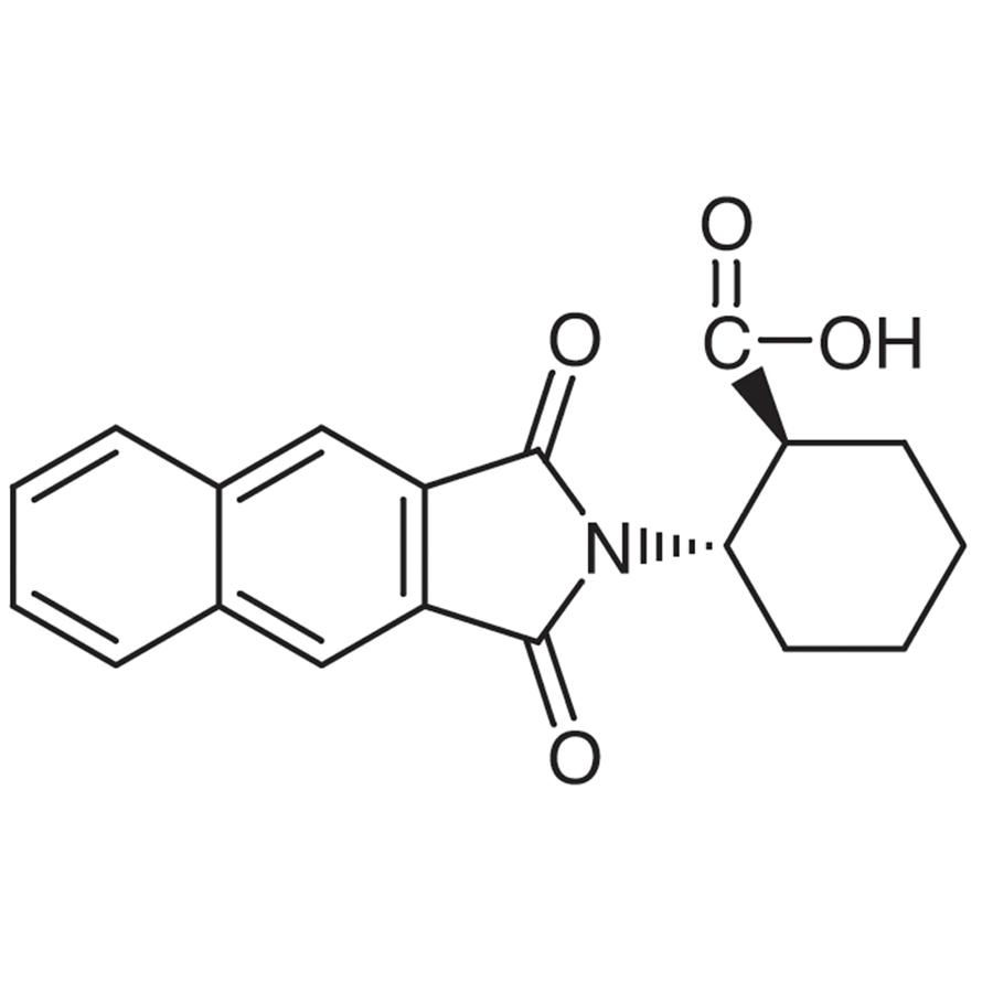 (1S,2S)-2-(Naphthalene-2,3-dicarboximido)cyclohexanecarboxylic Acid