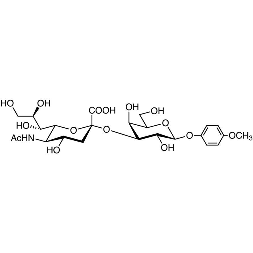 Neu5Ac(2-3)Gal MP Glycoside