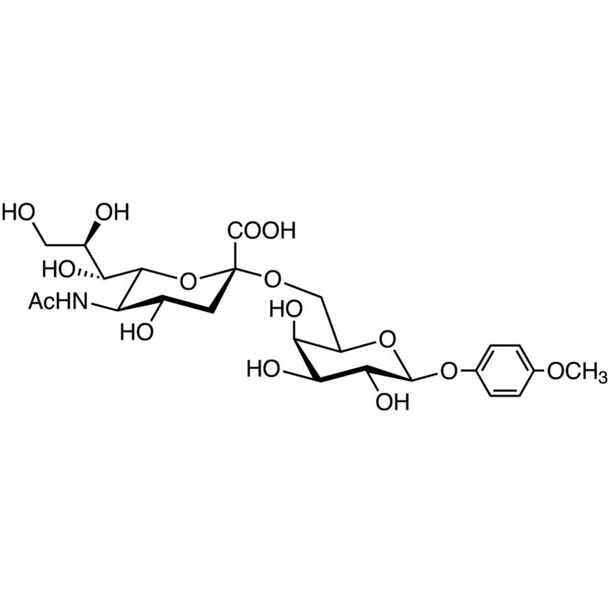 Neu5Ac(2-6)Gal MP Glycoside