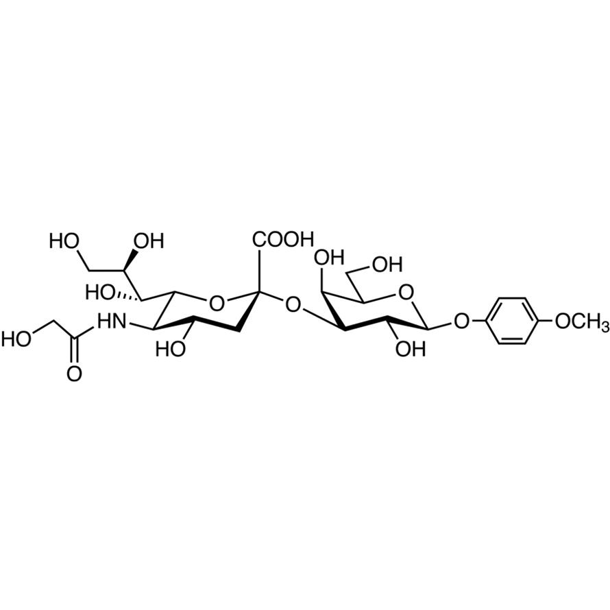Neu5Gc(2-3)Gal MP Glycoside
