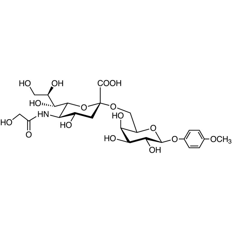 Neu5Gc(2-6)Gal MP Glycoside