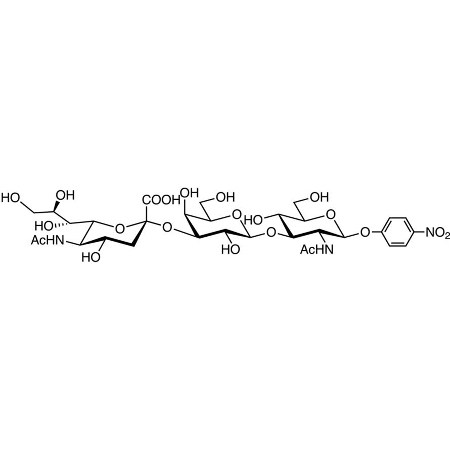 Neu5Ac(2-3)Gal(1-3)GlcNAc--pNP