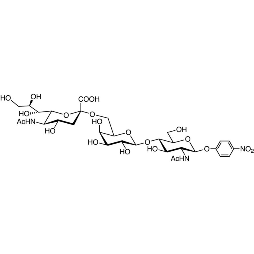 Neu5Ac(2-6)Gal(1-4)GlcNAc--pNP