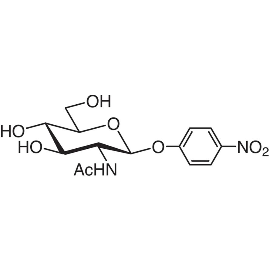 4-Nitrophenyl 2-Acetamido-2-deoxy--D-glucopyranoside