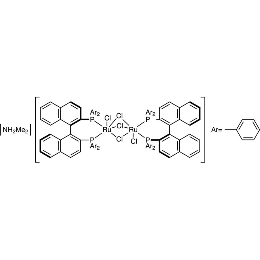 [NH2Me2][(RuCl((R)-binap))2(μ-Cl)3]