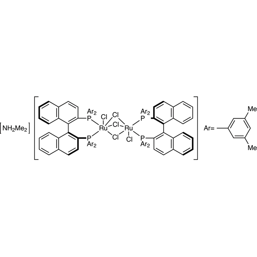 [NH2Me2][(RuCl((S)-xylbinap))2(μ-Cl)3]