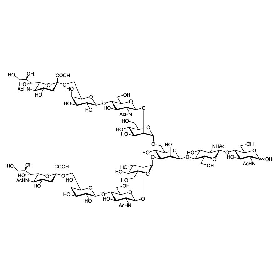 Neu5Ac(2-6) N-Glycan