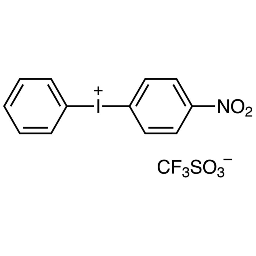 (4-Nitrophenyl)(phenyl)iodonium Trifluoromethanesulfonate