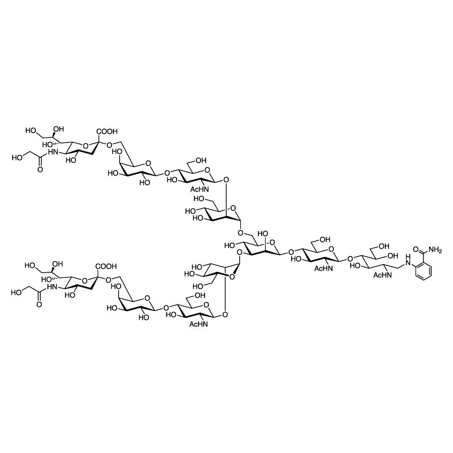Neu5Gc(2-6) N-Glycan 2AB (500pmol/vial)