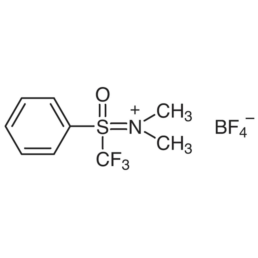 [(Oxido)phenyl(trifluoromethyl)-4-sulfanylidene]dimethylammonium Tetrafluoroborate