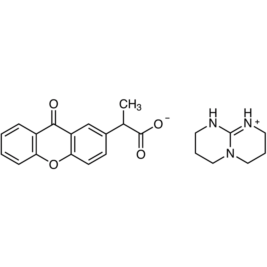 2-(9-Oxoxanthen-2-yl)propionic Acid 1,5,7-Triazabicyclo[4.4.0]dec-5-ene Salt