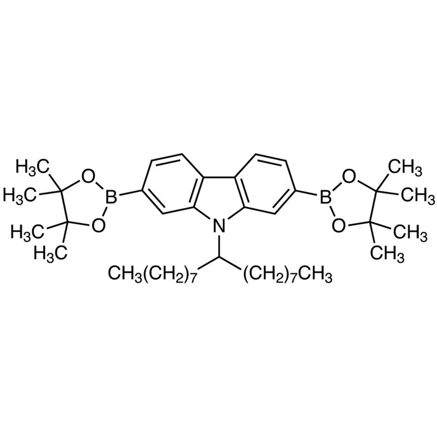 9-(9-Heptadecanyl)-2,7-bis(4,4,5,5-tetramethyl-1,3,2-dioxaborolan-2-yl)carbazole