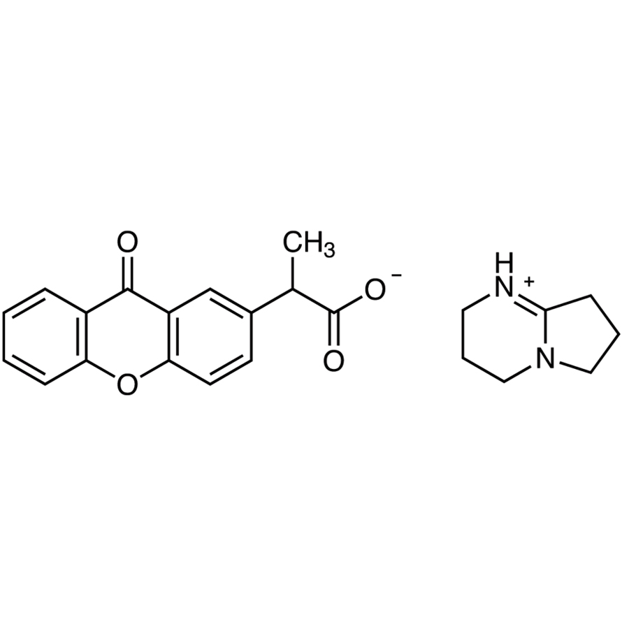 2-(9-Oxoxanthen-2-yl)propionic Acid 1,5-Diazabicyclo[4.3.0]non-5-ene Salt