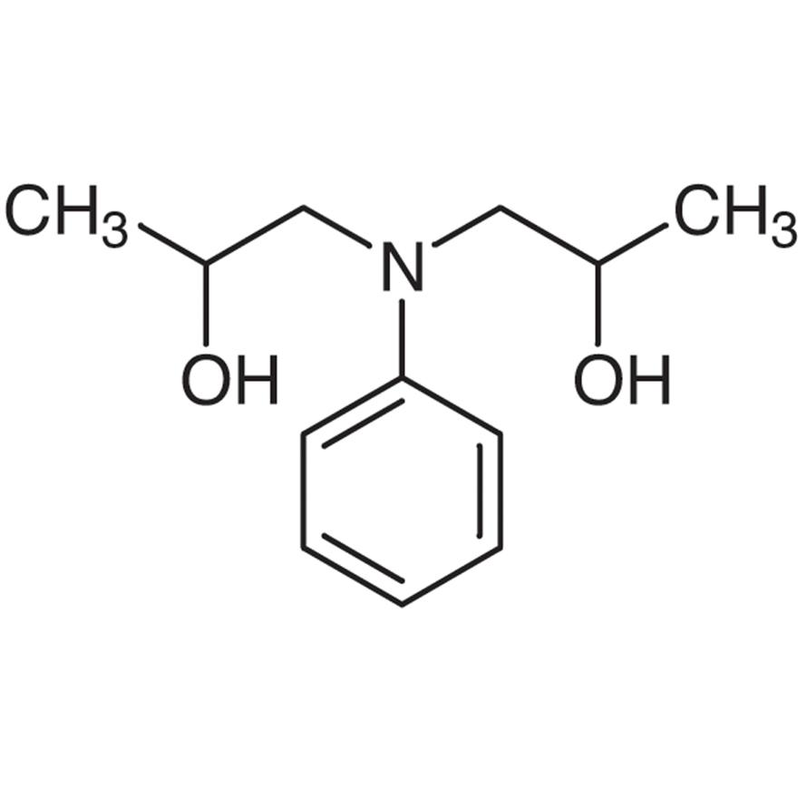 N,N-Bis(2-hydroxypropyl)aniline (DL- and meso- mixture)