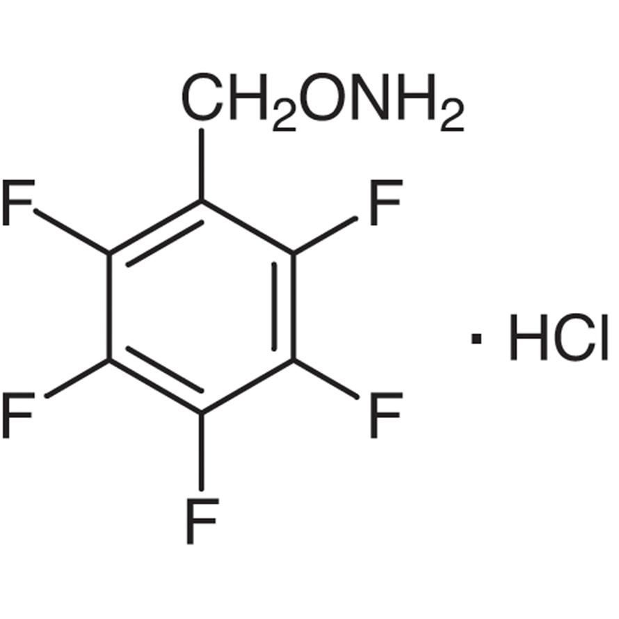 O-(2,3,4,5,6-Pentafluorobenzyl)hydroxylamine Hydrochloride [for Oxime Preparation]
