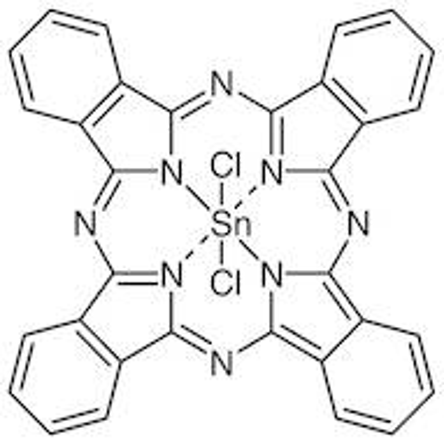 Tin(IV) Phthalocyanine Dichloride