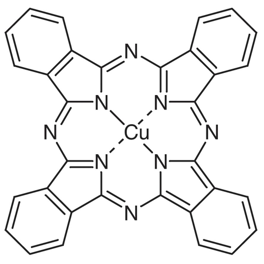 Copper(II) Phthalocyanine (-form)