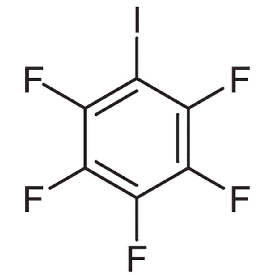 Pentafluoroiodobenzene (stabilized with Copper chip)
