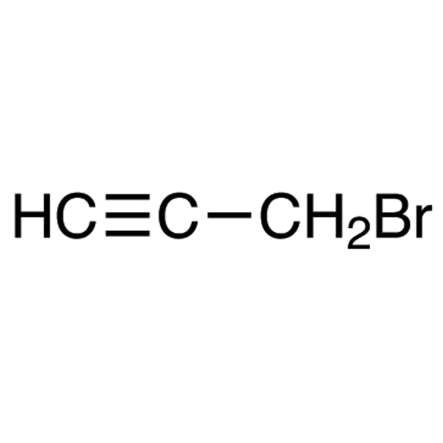 Propargyl Bromide (80% in Toluene, ca. 9.2mol/L) (stabilized with MgO)