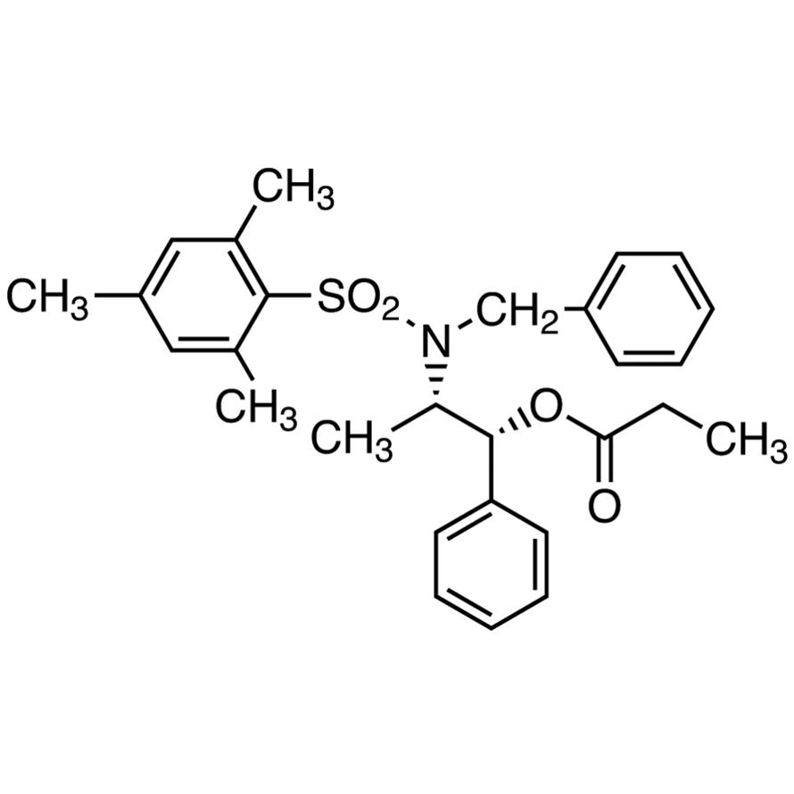 (1R,2S)-2-[N-Benzyl-N-(mesitylenesulfonyl)amino]-1-phenylpropyl Propionate [Reagent for anti-selective asymmetric aldol reaction]