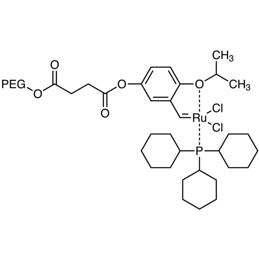 Polyethylene Glycol-bound Ruthenium Carbene Complex