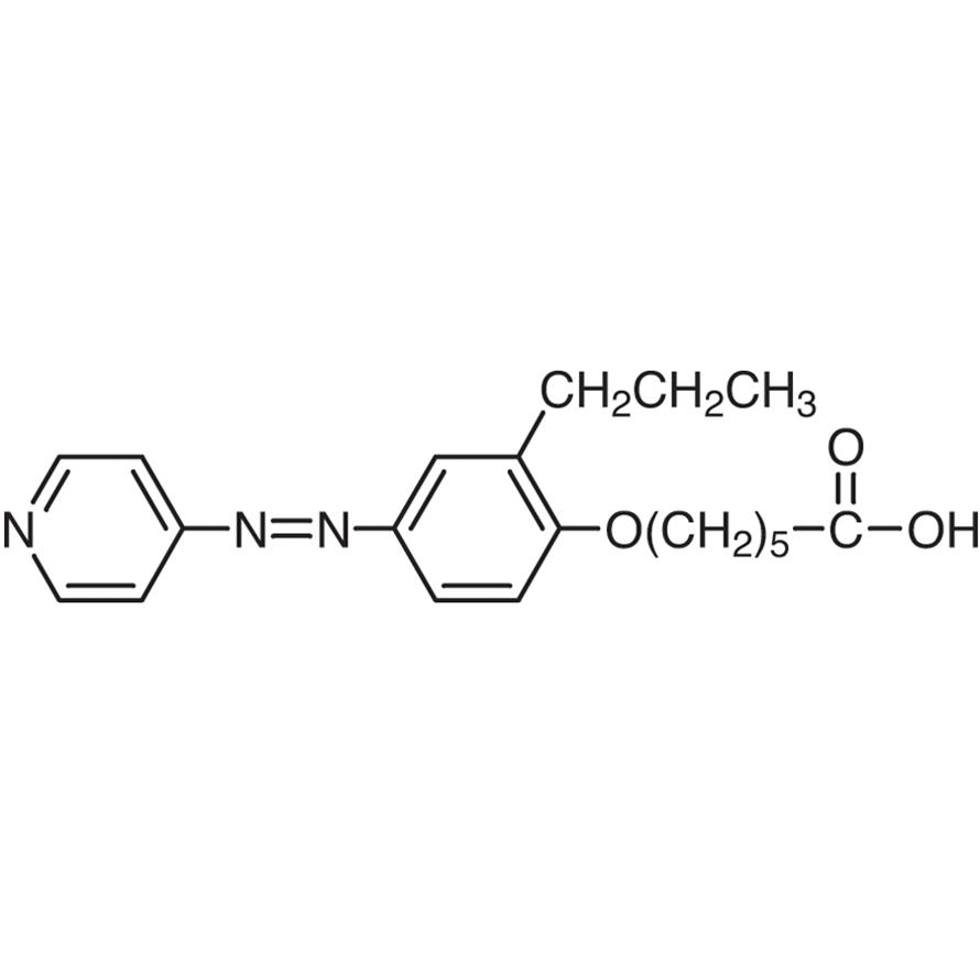 6-[2-Propyl-4-(4-pyridylazo)phenoxy]hexanoic Acid