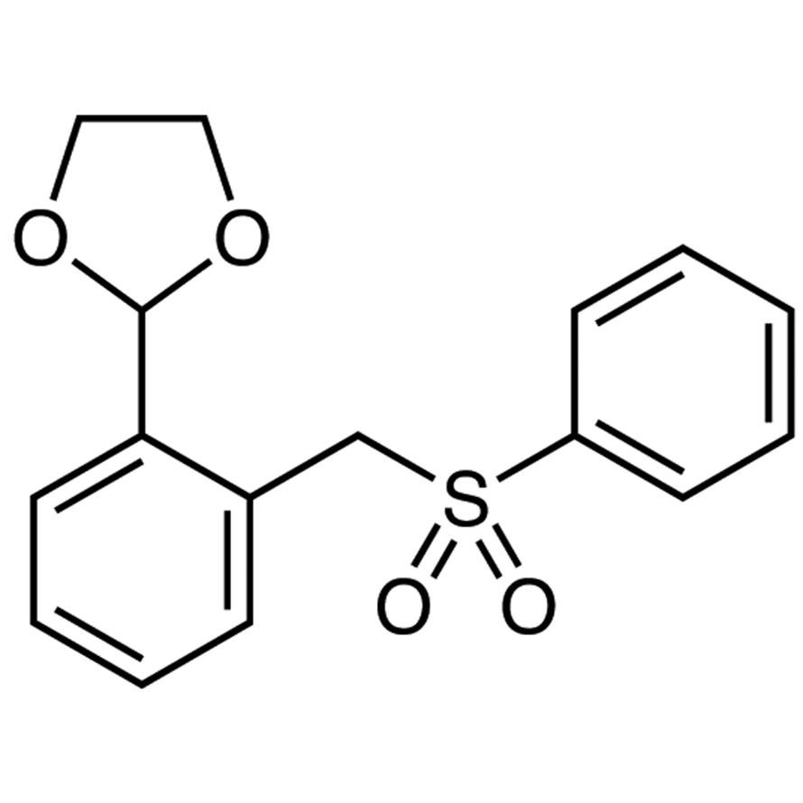 2-[2-(Phenylsulfonylmethyl)phenyl]-1,3-dioxolane
