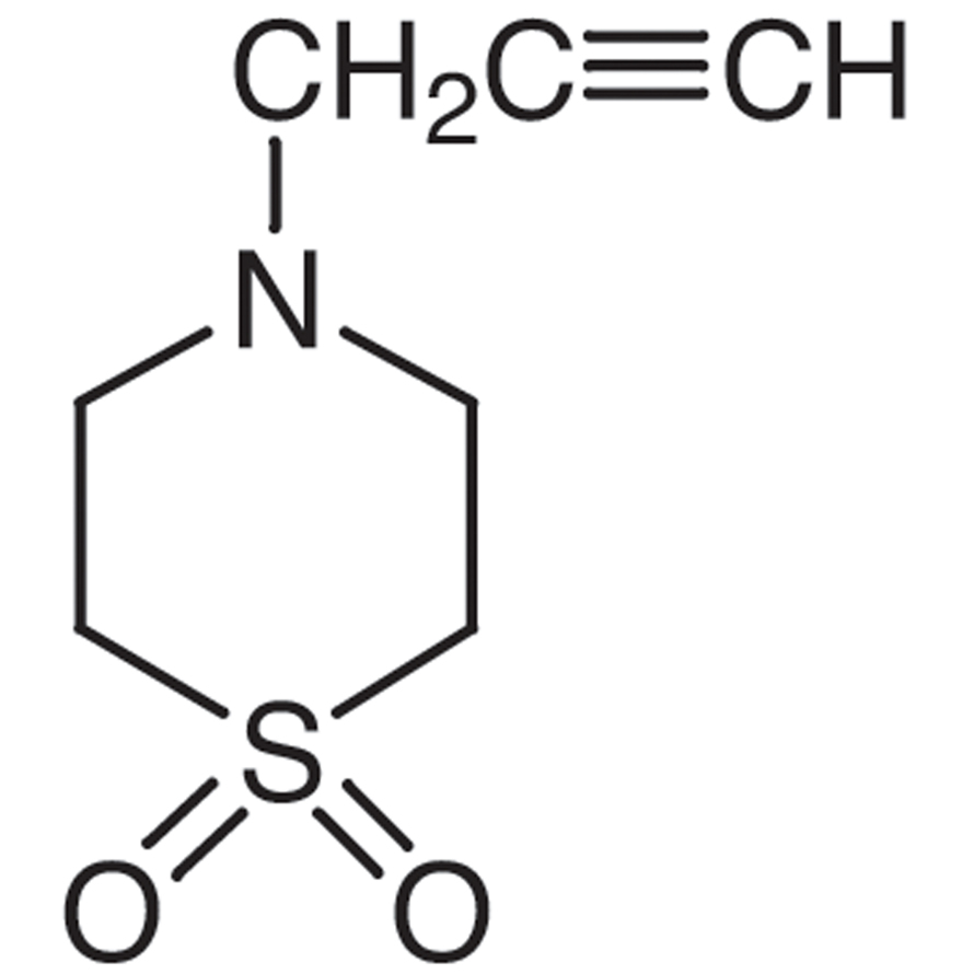 4-Propargylthiomorpholine 1,1-Dioxide