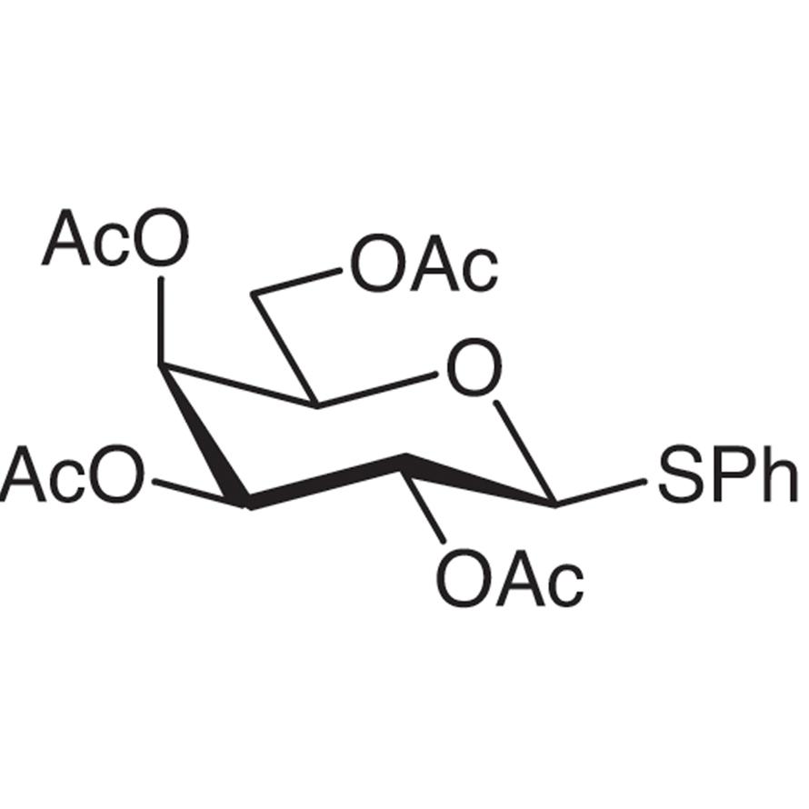 Phenyl 2,3,4,6-Tetra-O-acetyl-1-thio--D-galactopyranoside