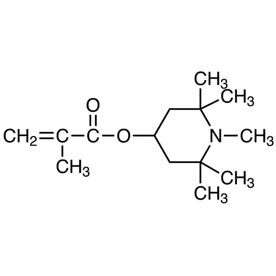 1,2,2,6,6-Pentamethyl-4-piperidyl Methacrylate (stabilized with MEHQ)
