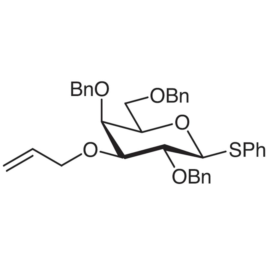 Phenyl 3-O-Allyl-2,4,6-tri-O-benzyl-1-thio--D-galactopyranoside