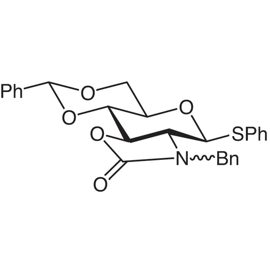 Phenyl N-Benzyl-2-amino-4,6-O-benzylidene-2-N,3-O-carbonyl-2-deoxy-1-thio--D-glucopyranoside