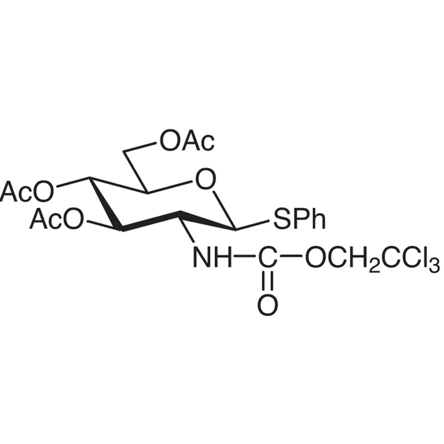 Phenyl 3,4,6-Tri-O-acetyl-2-deoxy-1-thio-2-(2,2,2-trichloroethoxyformamido)--D-glucopyranoside