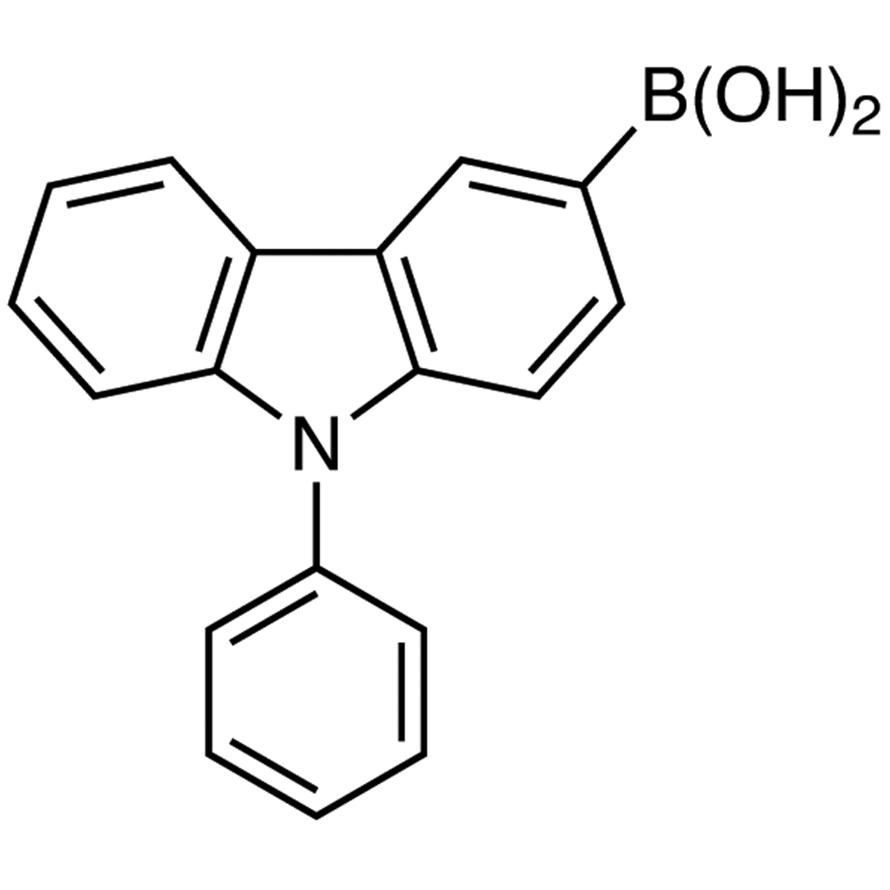 9-Phenylcarbazole-3-boronic Acid (contains varying amounts of Anhydride)