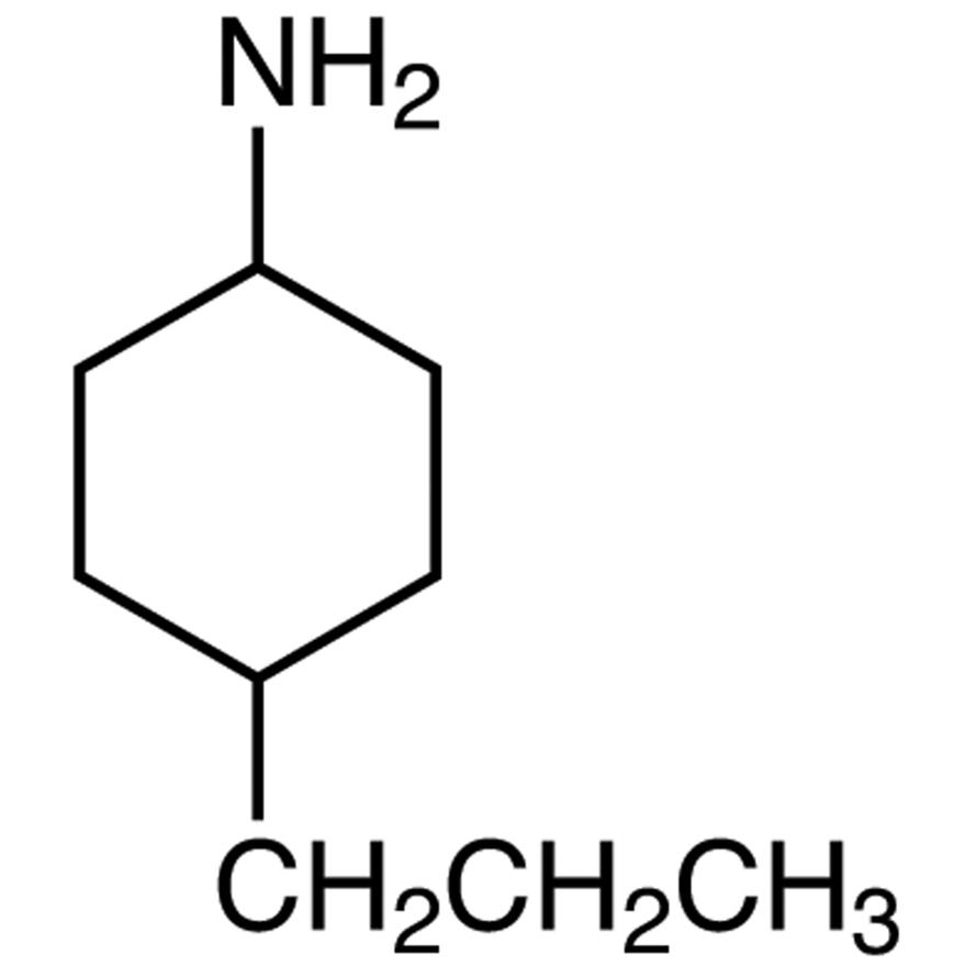 4-Propylcyclohexylamine (cis- and trans- mixture)