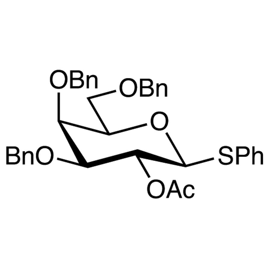 Phenyl 2-O-Acetyl-3,4,6-tri-O-benzyl-1-thio--D-galactopyranoside