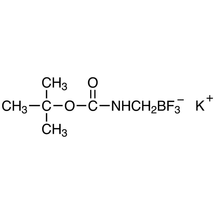 Potassium [[(tert-Butoxycarbonyl)amino]methyl]trifluoroborate