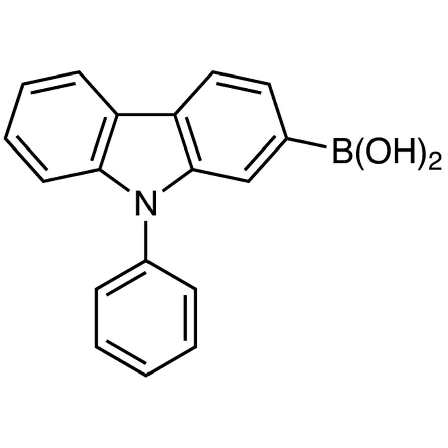 9-Phenylcarbazole-2-boronic Acid (contains varying amounts of Anhydride)