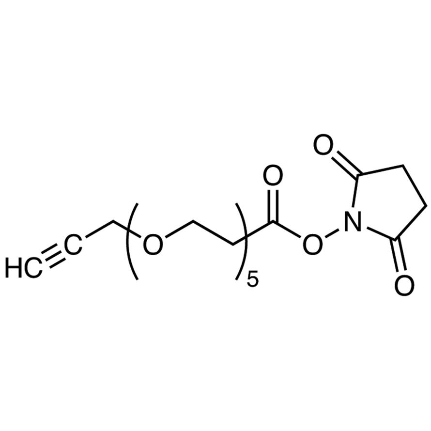 Propargyl-PEG5-NHS Ester