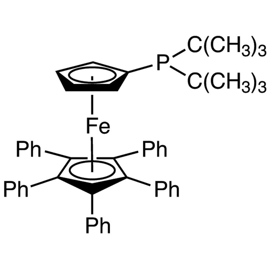 1,2,3,4,5-Pentaphenyl-1'-(di-tert-butylphosphino)ferrocene